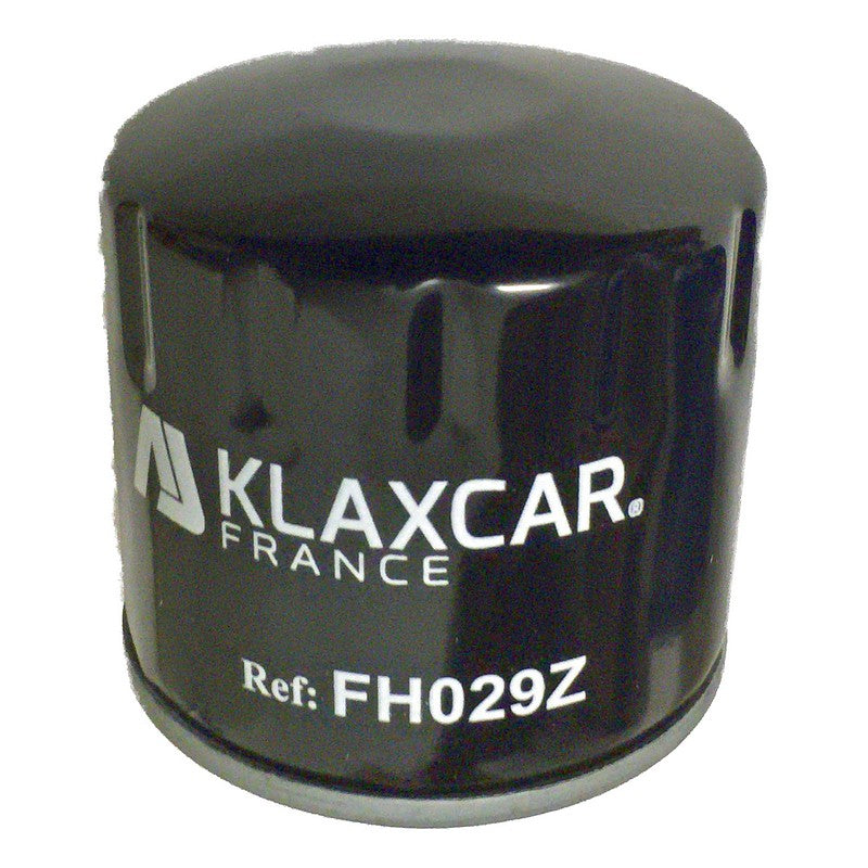 Oil filter, pattern part, for 2cv6, copy of Purflux by Klaxcar France.