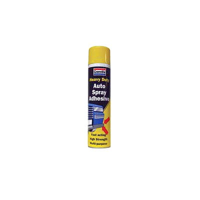 Aerosol adhesive, 400ml, to stick seat foam to frame & general usage. See notes about delivery restrictions.
