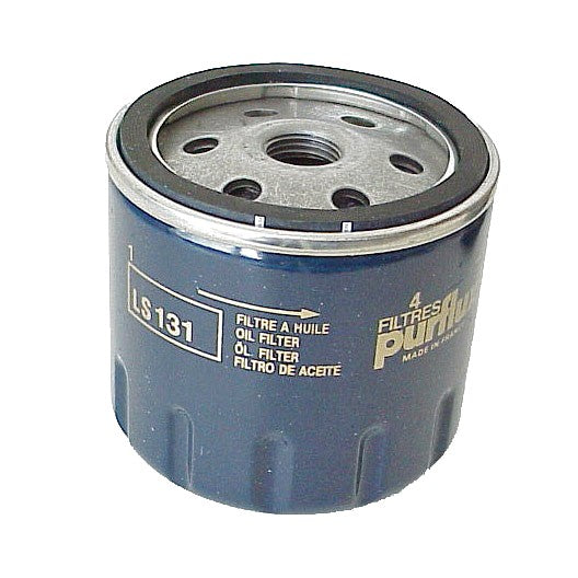 Oil filter, genuine PURFLUX, for 602cc 2cv etc.