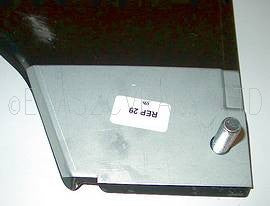 Repair panel for bottom of A panel 2cv left.