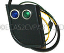 Extra dash with high beam & indicator warning, to fit RHD., UK., 2cv special dashboard. OUT OF STOCK