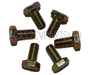 Pack of 6 set screw M7X16 to hold clutch only 003436 to flywheel. See notes