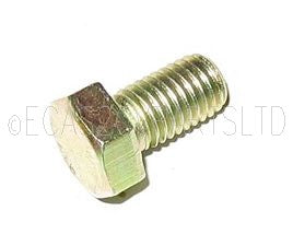Set screw, plated, 11mm hex head, M7 x 1.00, 12mm long. Per 25