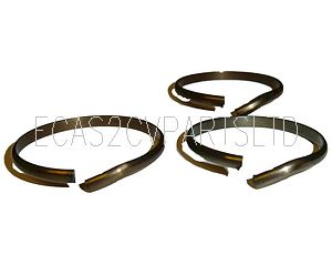 Set of 3 synchro circlip snap ring for 2cv6, made in England, see details.