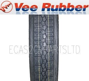 Tyre, Veerubber, made in Thailand, VX 125/80x15 tubeless. In stock. NO LONGER SOLD