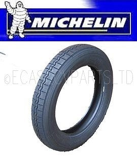 Tyre, Michelin X 125x400 (16 inch), 125R400, tubed type, the correct tyre for your 1950s 2cv.