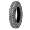 Tyre, Michelin X 135 R 400 tubed type, not normally used on 2cv saloon.