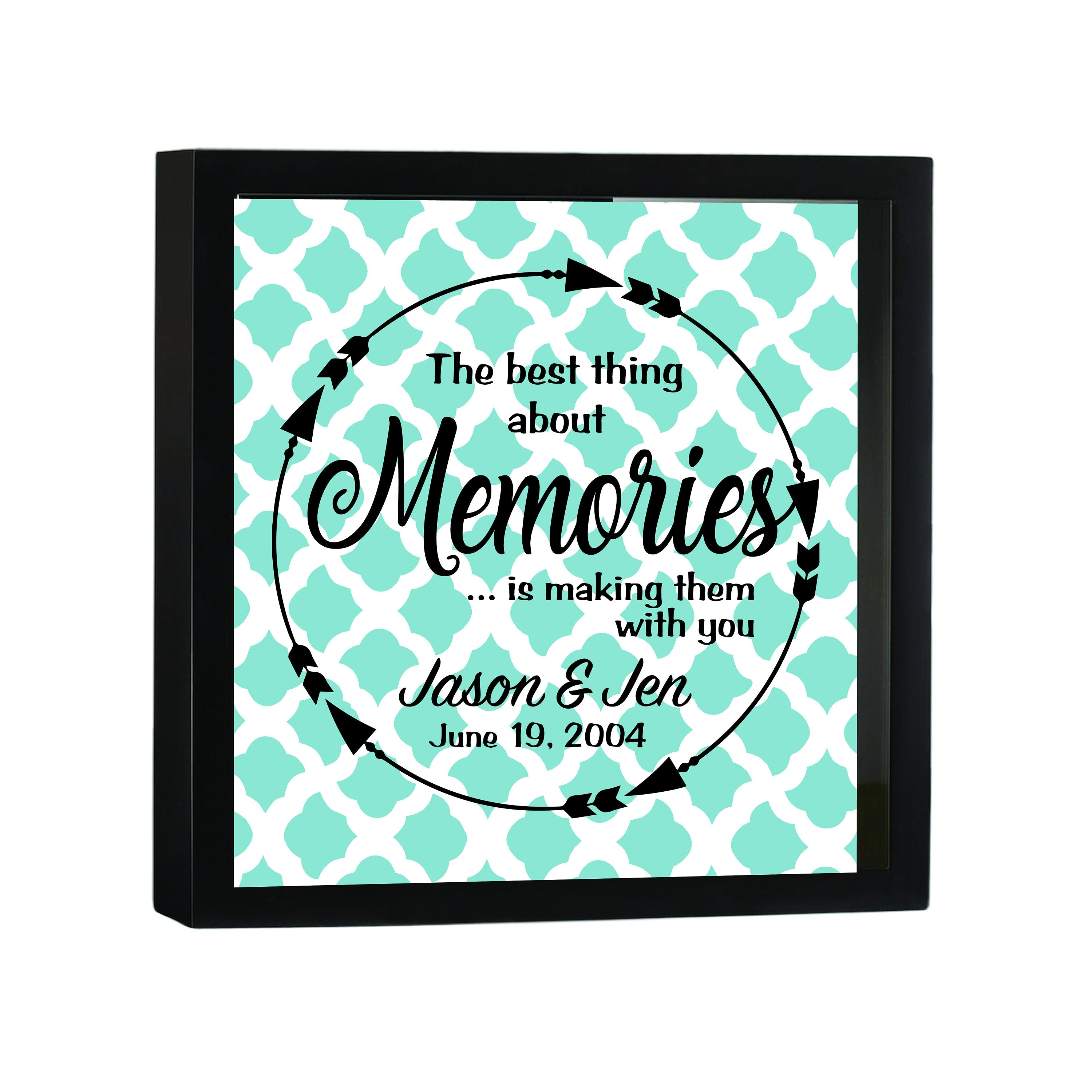 Making Memories Personalized Keepsake Collector Shadow Box