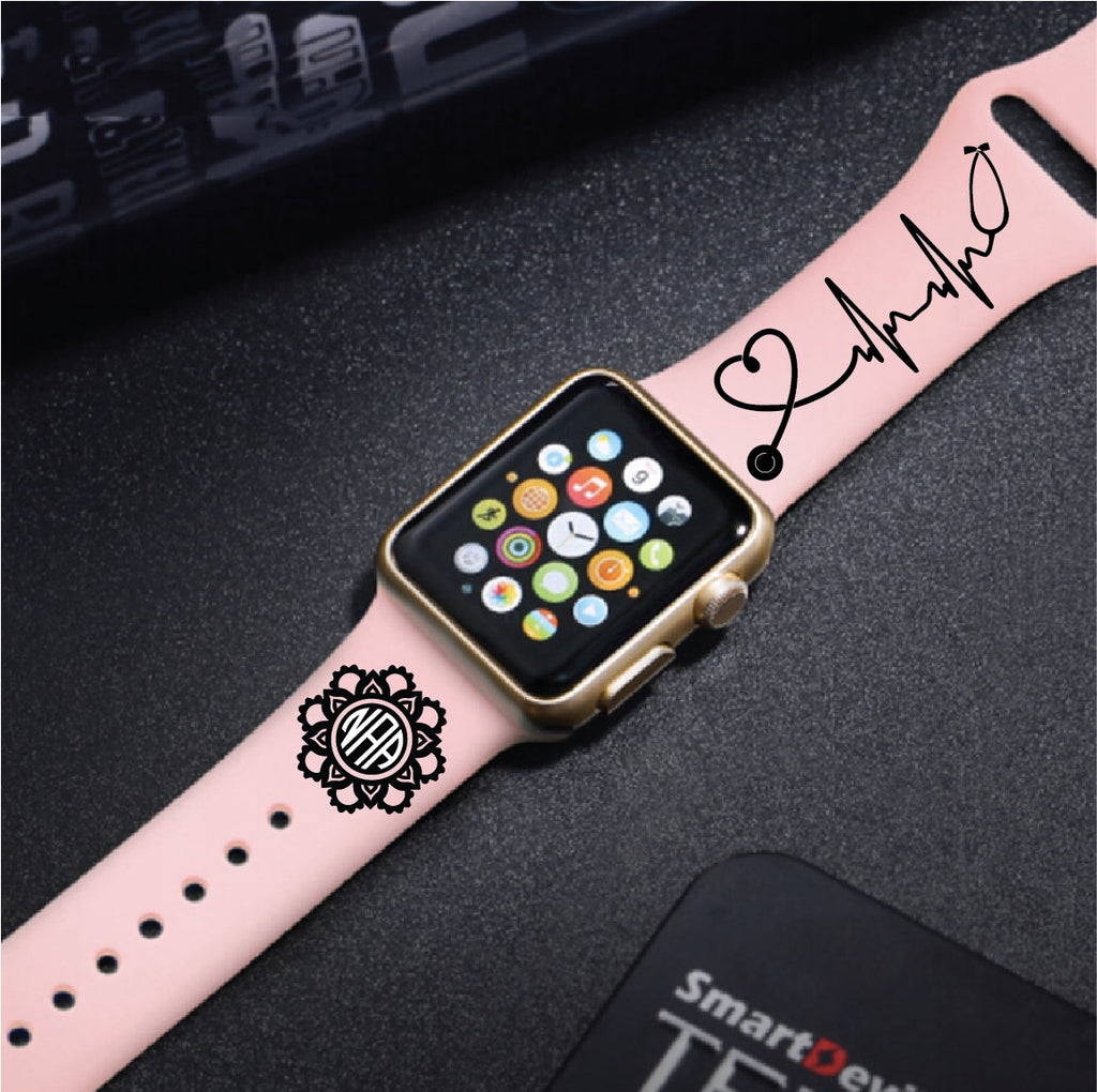 Someone With Autism Touched My Heart Engraved Apple Watch Band Multi Ilyfadesigns