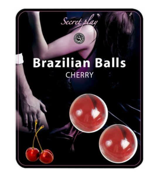 2 Brazilian Balls oil for body massage and lubricant Cherry flavour - WorldSxxxWide2k15