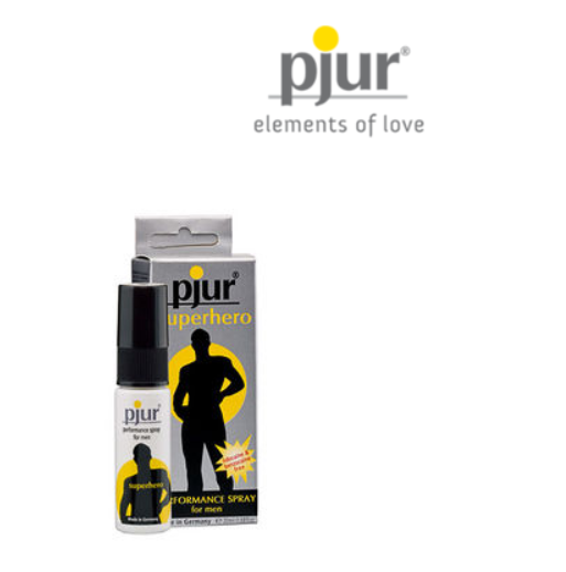 PJUR SUPERHERO DELAY SPRAY 20 ML - WorldSxxxWide2k15