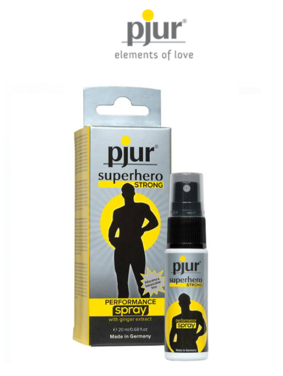 PJUR SUPERHERO STRONG DELAYERS 20 ML - WorldSxxxWide2k15