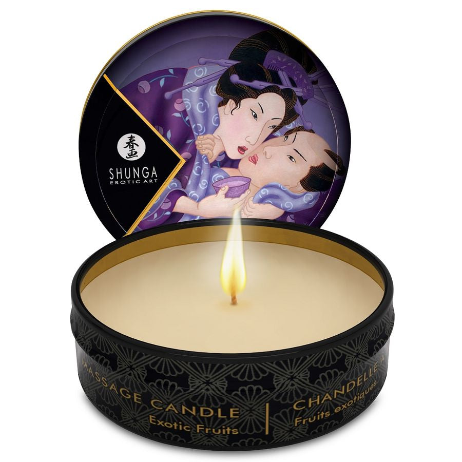 MINI CARESS BY CANDLELIGHT MASSAGE CANDLE EXOTICS FRUITS - WorldSxxxWide2k15