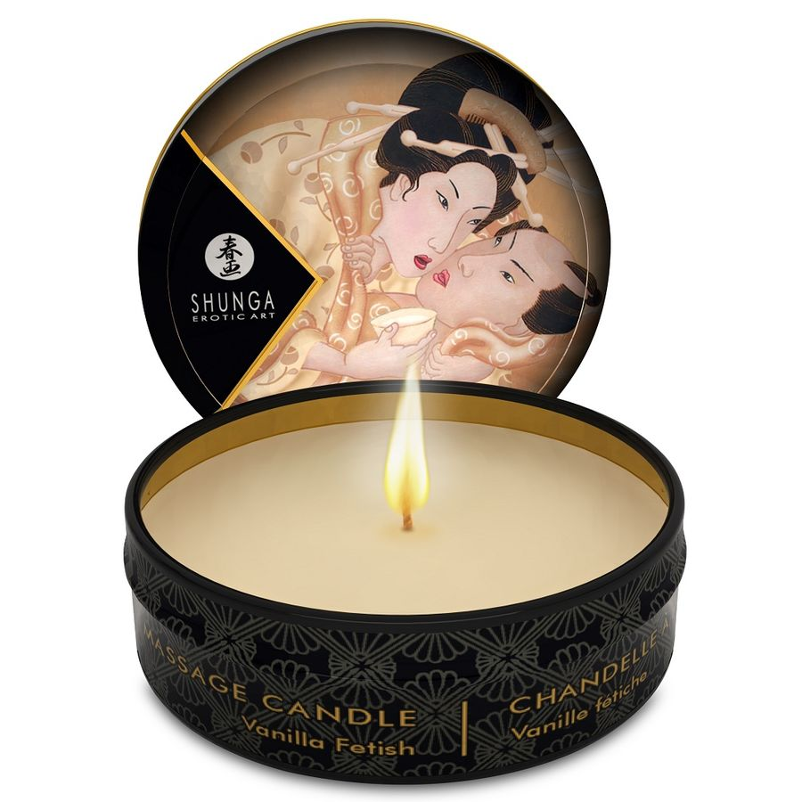MINI CARESS BY CANDLELIGHT MASSAGE CANDLE VANILLA - WorldSxxxWide2k15