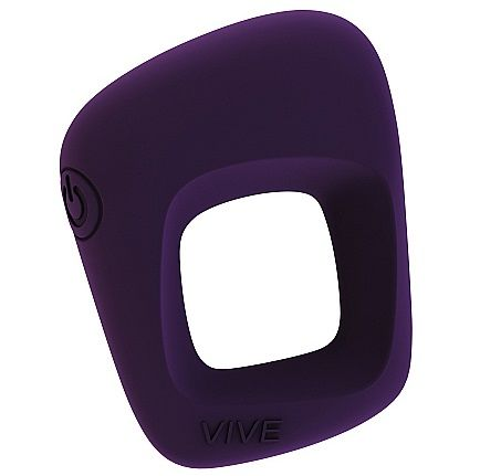 VIVE Senca Luxury Penis Ring Waterproof 10 Vibrations Purple - WorldSxxxWide2k15