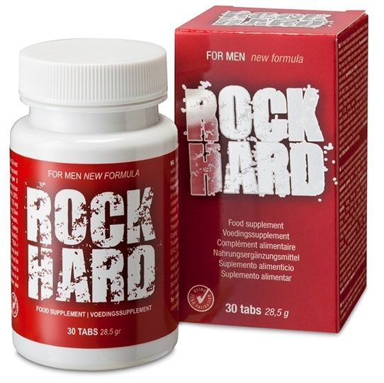 Rock Hard stimulant for male organs support erection power 30caps - WorldSxxxWide2k15