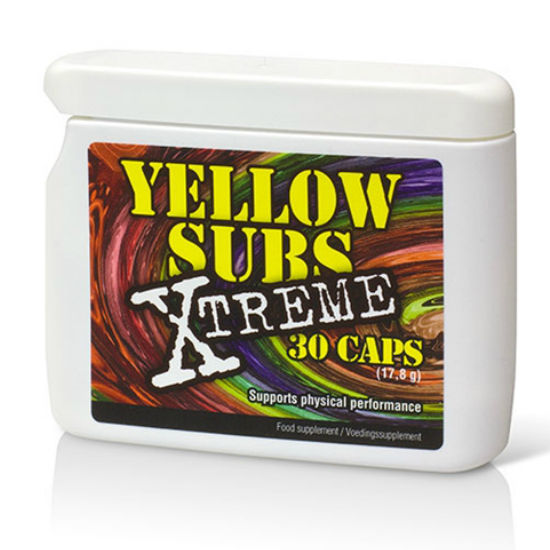 Yellow subs Xtrem efs energy sexual boost metabolism 30caps by Cobeco - WorldSxxxWide2k15