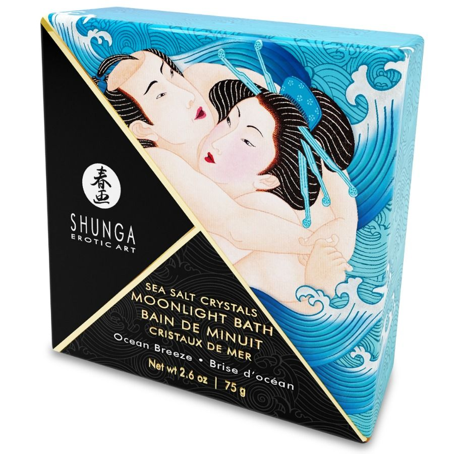 Shunga oriental crystal Oceania bath salts relax and sex intercourse 75gr - WorldSxxxWide2k15