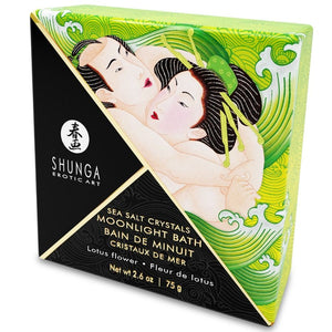 Shunga oriental crystal Lotus bath experience salts relaxing erotic 75gr - WorldSxxxWide2k15