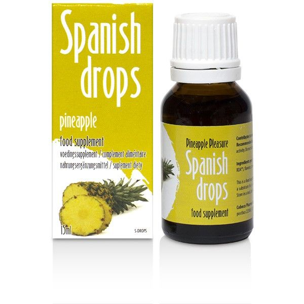 Spanish Fly sexual stimulant sex drops erotic energy drink Pineapple pleasure 15ml - WorldSxxxWide2k15