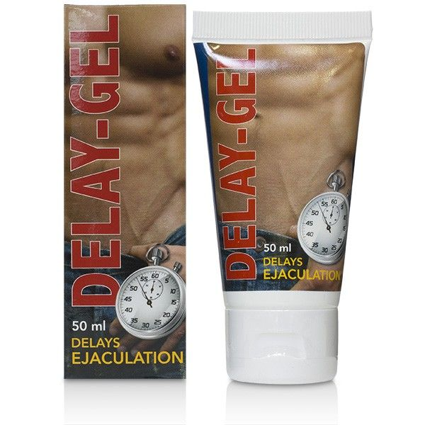 DELAY EJACULATIONS GEL 50ML - WorldSxxxWide2k15