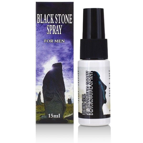 BLACK STONE DELAY SPRAY FOR MEN 15ML - WorldSxxxWide2k15