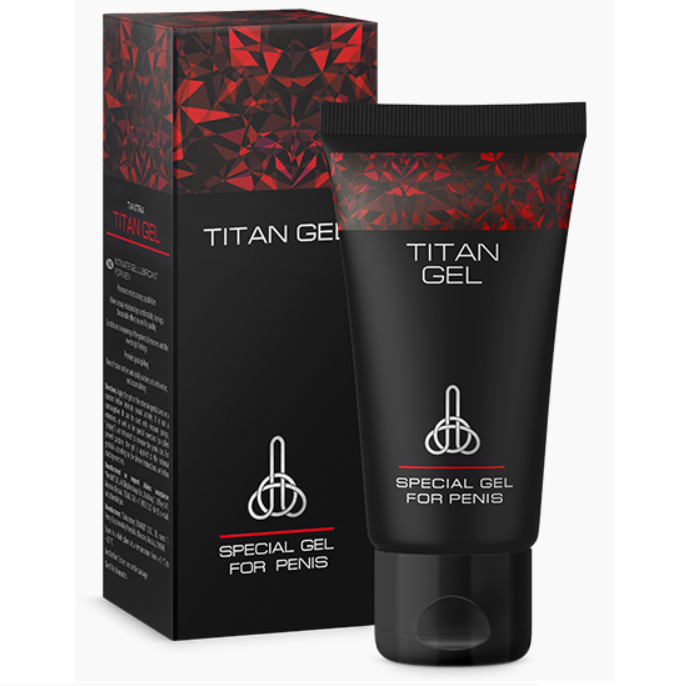 Titan Gel Made in Russia Original 50ml / 1.69 fl oz