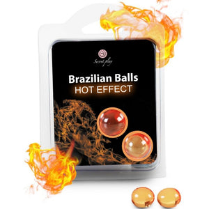 Brazilian balls warming effect lubrican oil massage full body 2units - WorldSxxxWide2k15