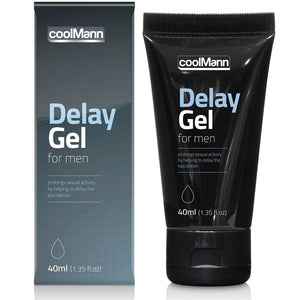 CoolMann Delay Gel for Men 40ml/1.35 fl oz - WorldSxxxWide2k15