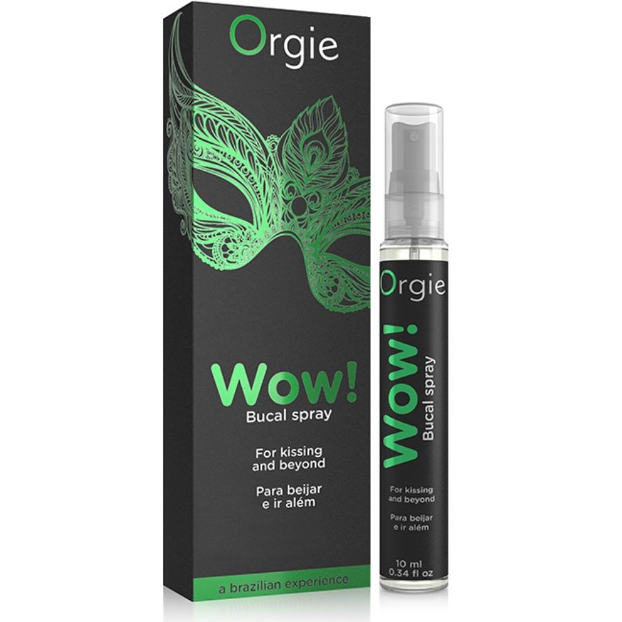 Orgie WOW Spray Oral Kissing Couple Intercourse Orgasm Intense Sexo 0.33oz 10ml