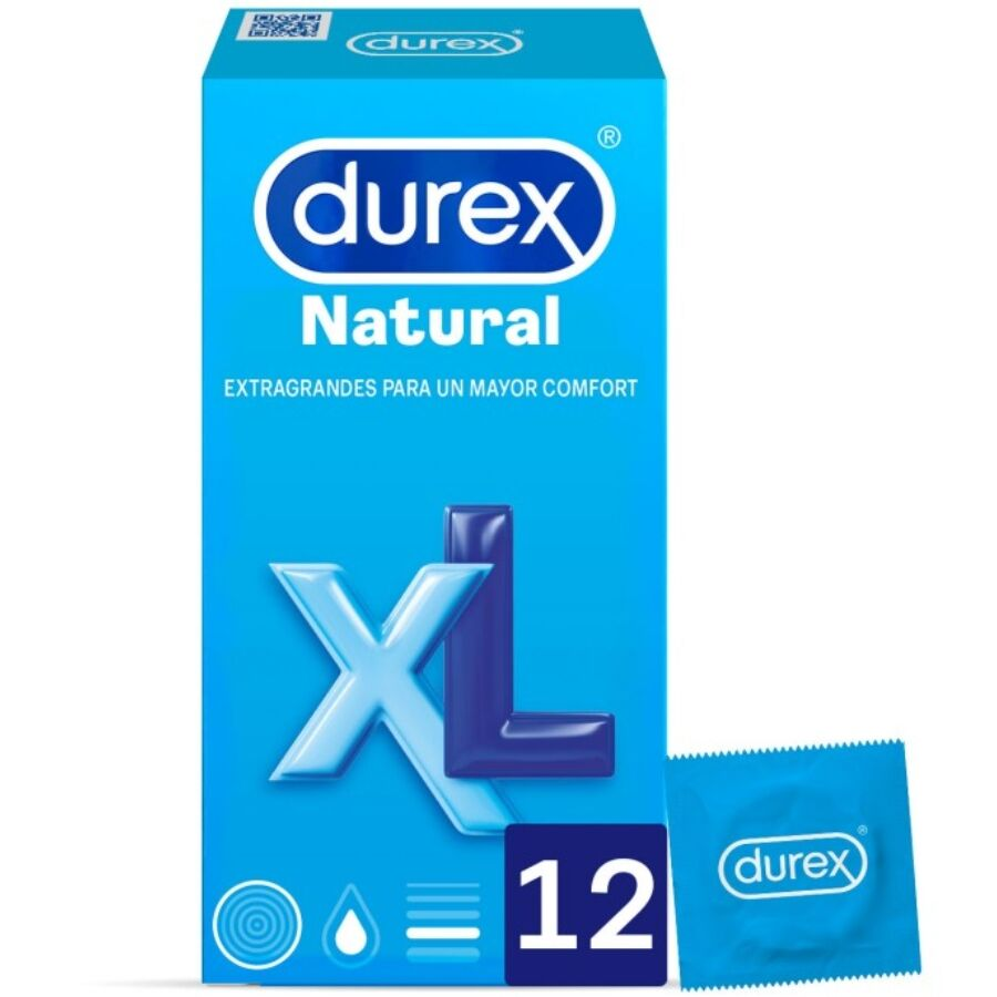 12 Condom Durex XL Natural pack - WorldSxxxWide2k15