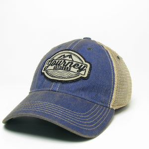Journey Outdoors Fitted Old Favorite Hat | BLUE