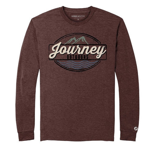 Journey Outdoors Long Sleeve | BURGUNDY