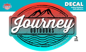 Journey Outdoors Decal