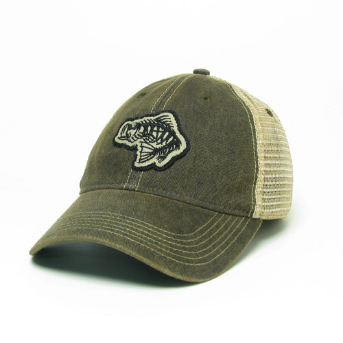 Soul Fishin Fitted Old Favorite Hat | BLACK