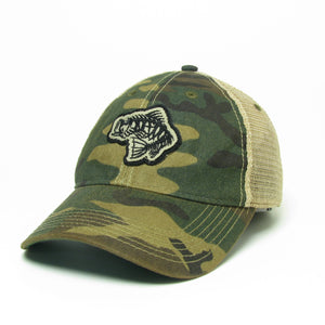 Soul Fishin Fitted Old Favorite Hat | CAMO