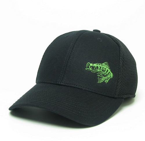 Soul Fishin Fitted Hat | BLACK