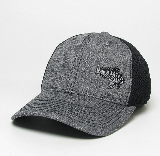 Soul Fishin Fitted Hat | GREY