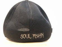 Load image into Gallery viewer, Soul Fishin Fitted Hat | GREY
