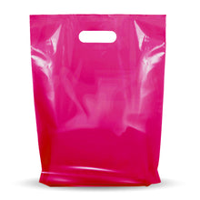 "Load image into Gallery viewer, 100 Pack 9"" x 12"" with 1.25 mil Thickness Pink Merchandise Plastic Glossy Retail Bags"