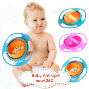 360° Baby Food Bowl - 50% Off
