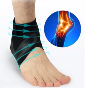 WALK HERO - THE ADJUSTABLE ELASTIC ANKLE BRACE