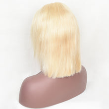 Load image into Gallery viewer, 613 Blonde Staight Frontal Bob Wig 4*4 Closure Wig 10-14 Inch Available| Bridger Hair
