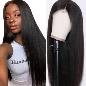 13*4 Straight Lace Frontal Wig Straight Human Hair Wigs T Part Wig 10-30 Inch| Bridger Hair