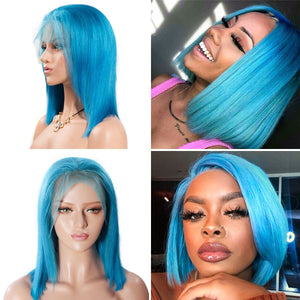 Customized Bob Wig Straight 13*4 Lace Front Bob Wig T Part Lace Front Wig| Bridger Hair