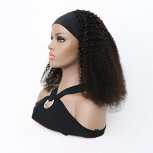 Load image into Gallery viewer, Afro Curl Headband Wig Human Hair Wig| Bridger Hair