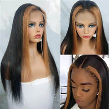 Load image into Gallery viewer, affordable lace front wig bridger hair