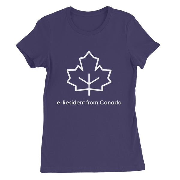 E-Residency Collection: Canada  Women's Favourite T-Shirt
