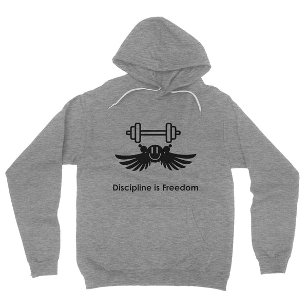 Discipline Is Freedom Collection Fleece Pullover Hoodie