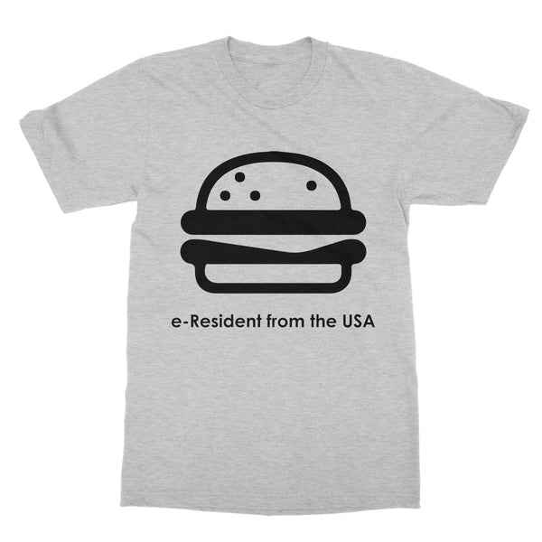 E-Residency Collection: USA  Softstyle T-Shirt